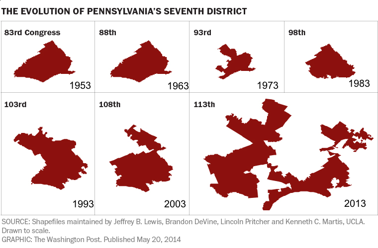 60 Years Of Gerrymandering